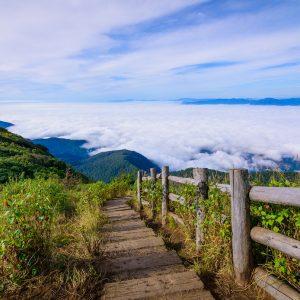 ドイ・インタノン, チェンマイ, ギューメーパン, 国立公園, アクティビティ,体験, トレッキング , ハイキング, タイ, 朝日, 素晴らしい景色